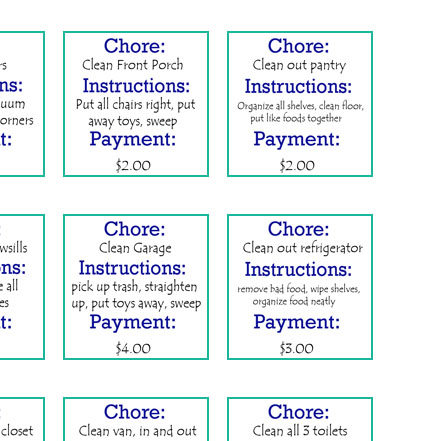 I Made Chore Cards This Post Is Not Funny But Very Informative If You Re Into Doing Chores And